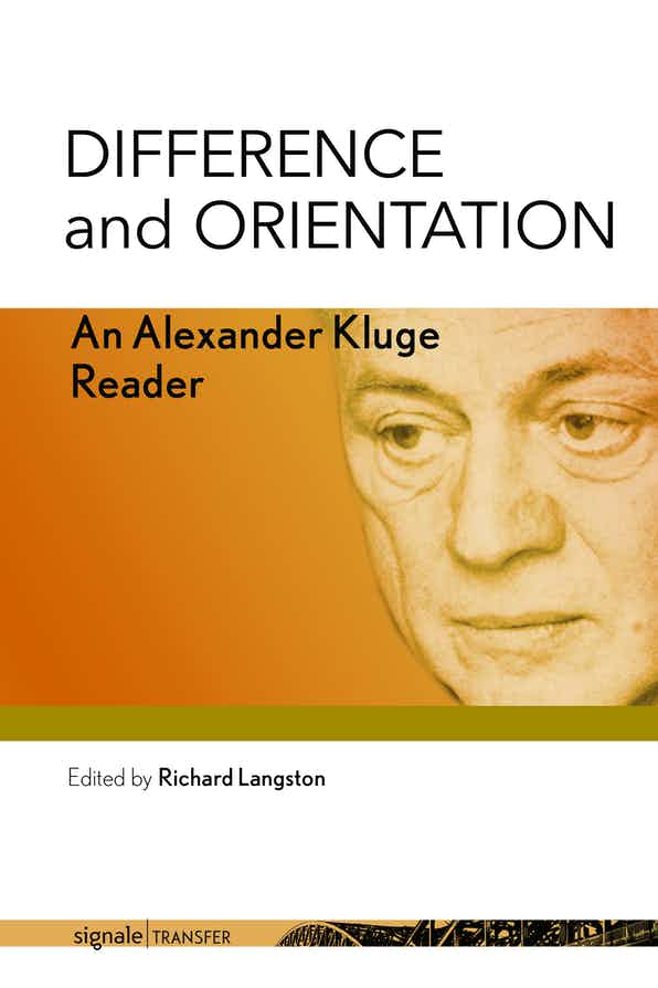 book cover Difference and Orientation